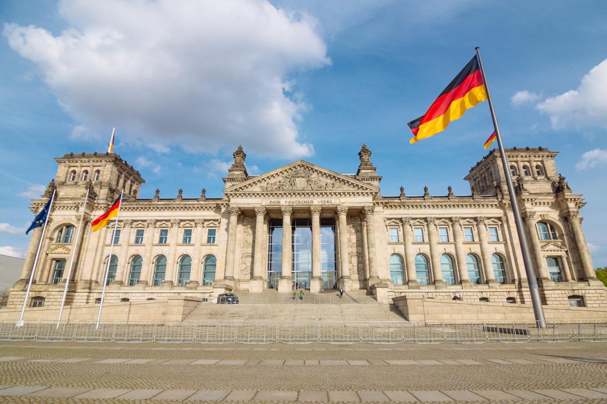15. April 2014 - Reichstaggebäude, Berlin