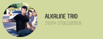 30. April 2014 - Alkaline Trio Konzert