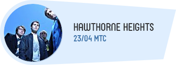 30. April 2014 - Hawthorne Heights Konzert