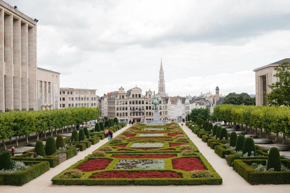 Brüssel - Mont des Arts