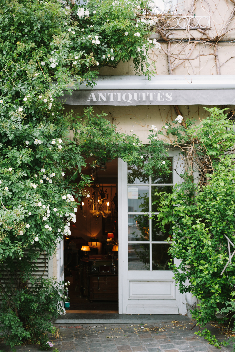 Brüssel Antiquitätenladen