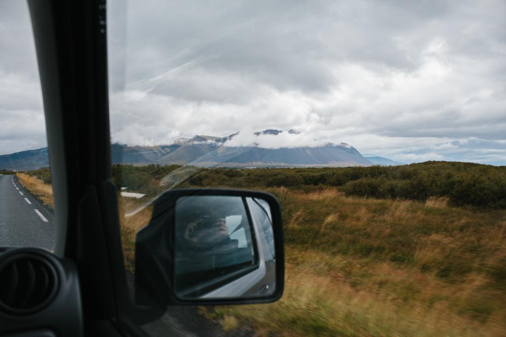 Fahrt nach Reykjavik