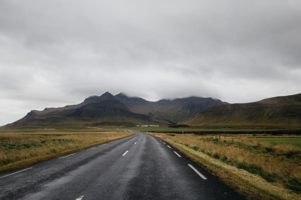 Landschaft Snæfellsnes