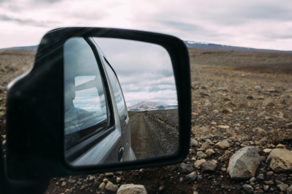 Fahrt durch Kaldidalur