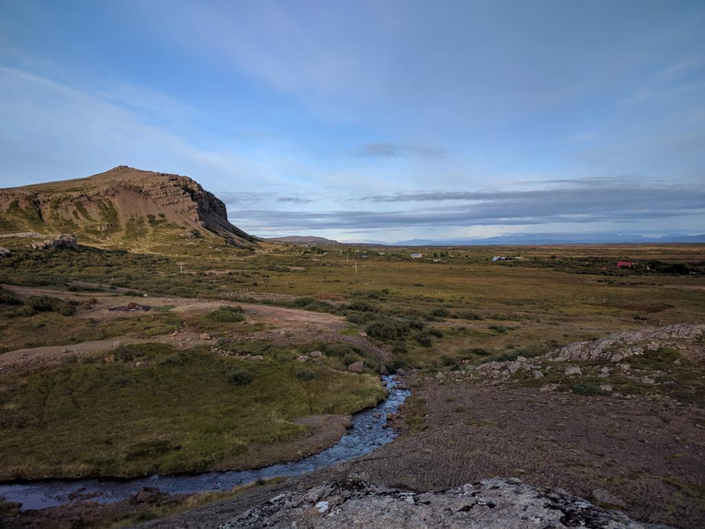 Aussicht Grímsstaðir