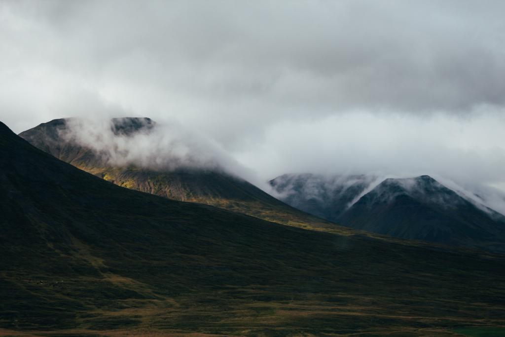 Island Fahrt in den Norden