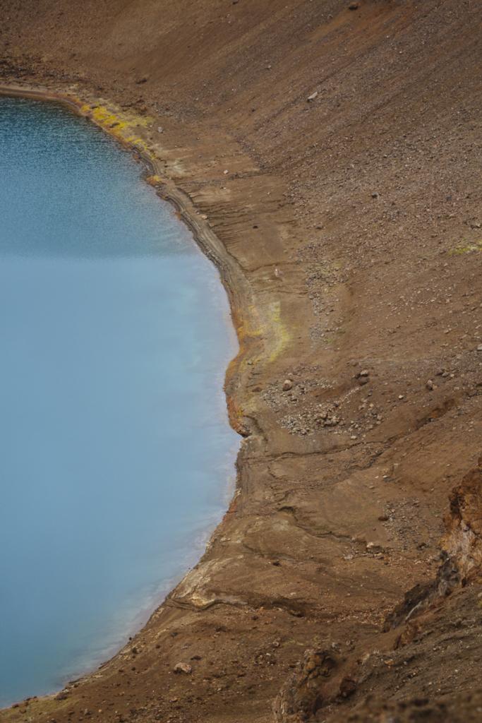 Víti Vulkansee Island