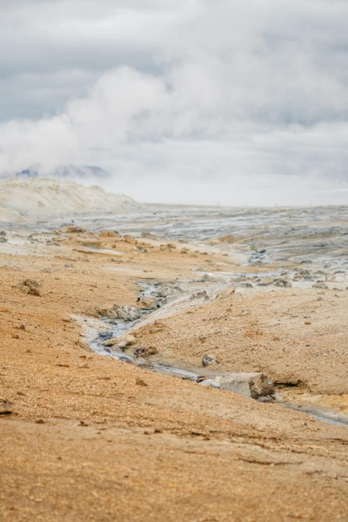 Námafjall Hverir Island