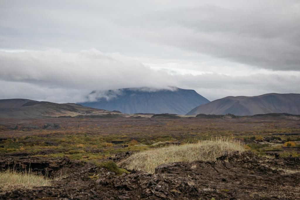 Aussicht Dimmuborgir Island
