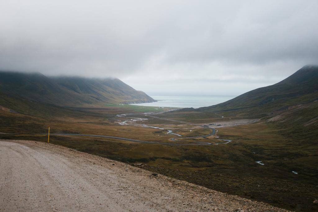 Fahrt nach Bakkagerði Island