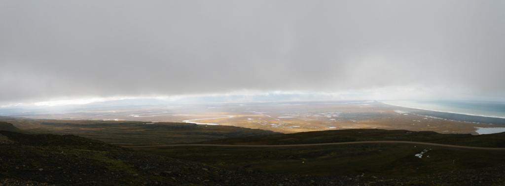 Panorama Aussicht Osten Island