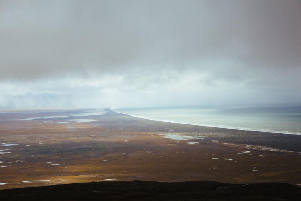 Aussicht Osten Island