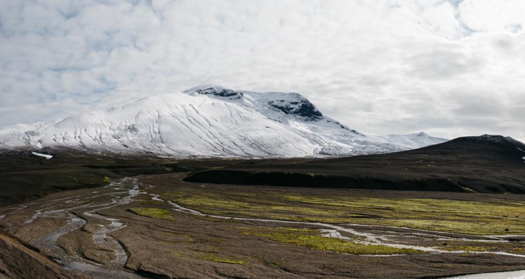Panorama Snæfell und Umgebung