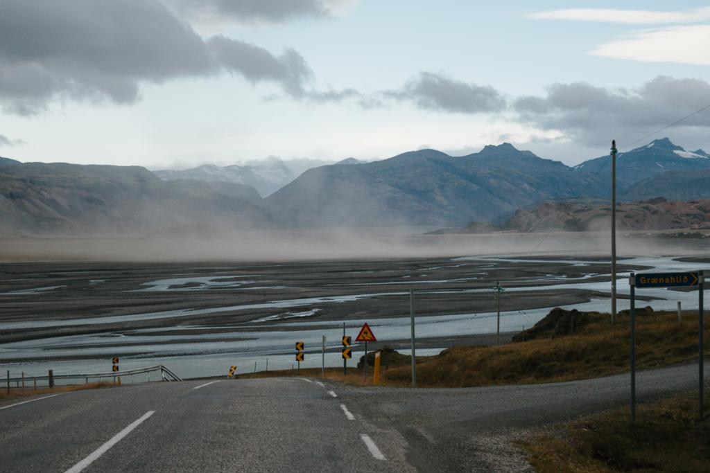 Island - Fahrt in den Süden