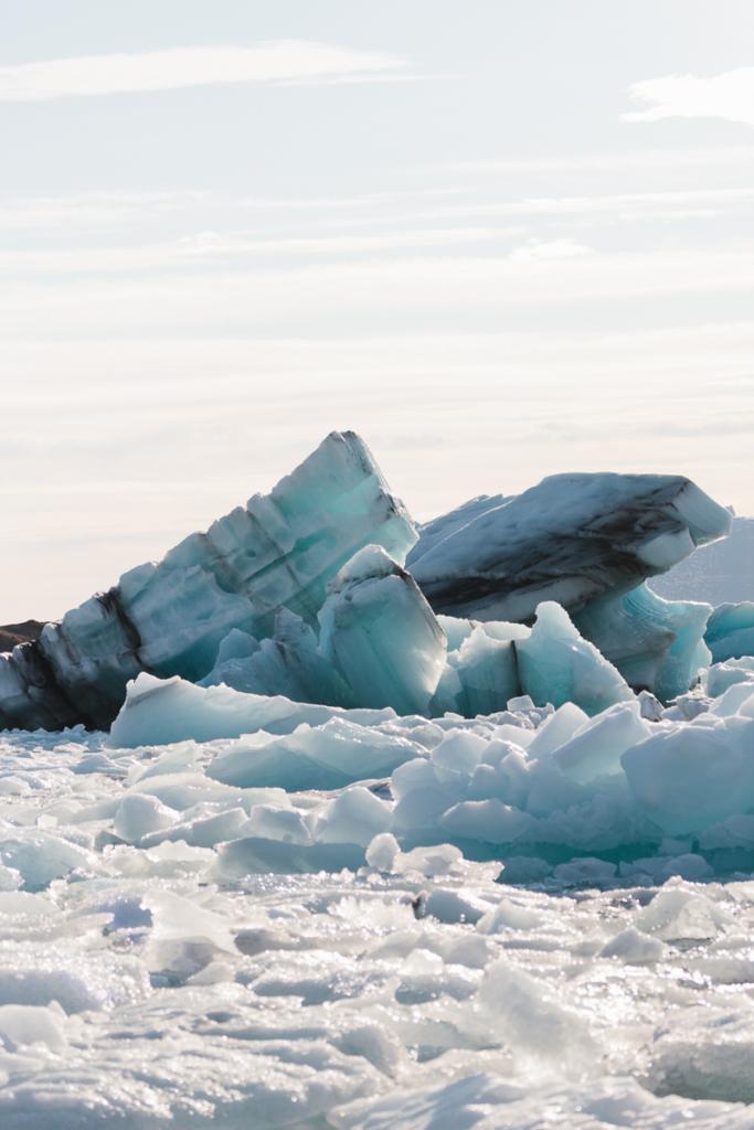 Jökulsárlón Geltscherlagune Island