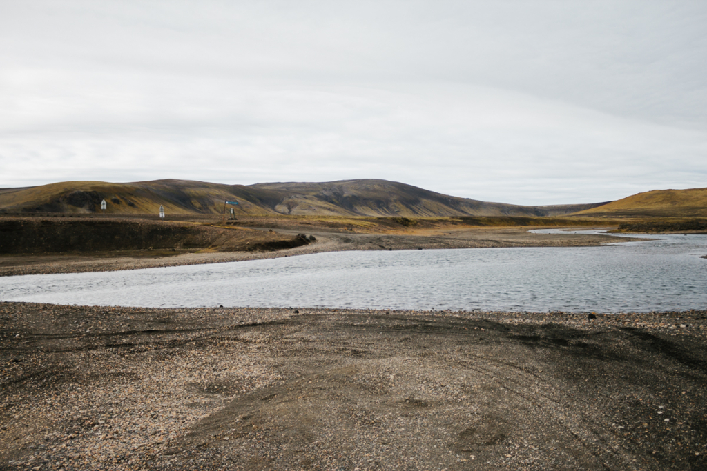 Furt Fahrt nach Landmannalaugar