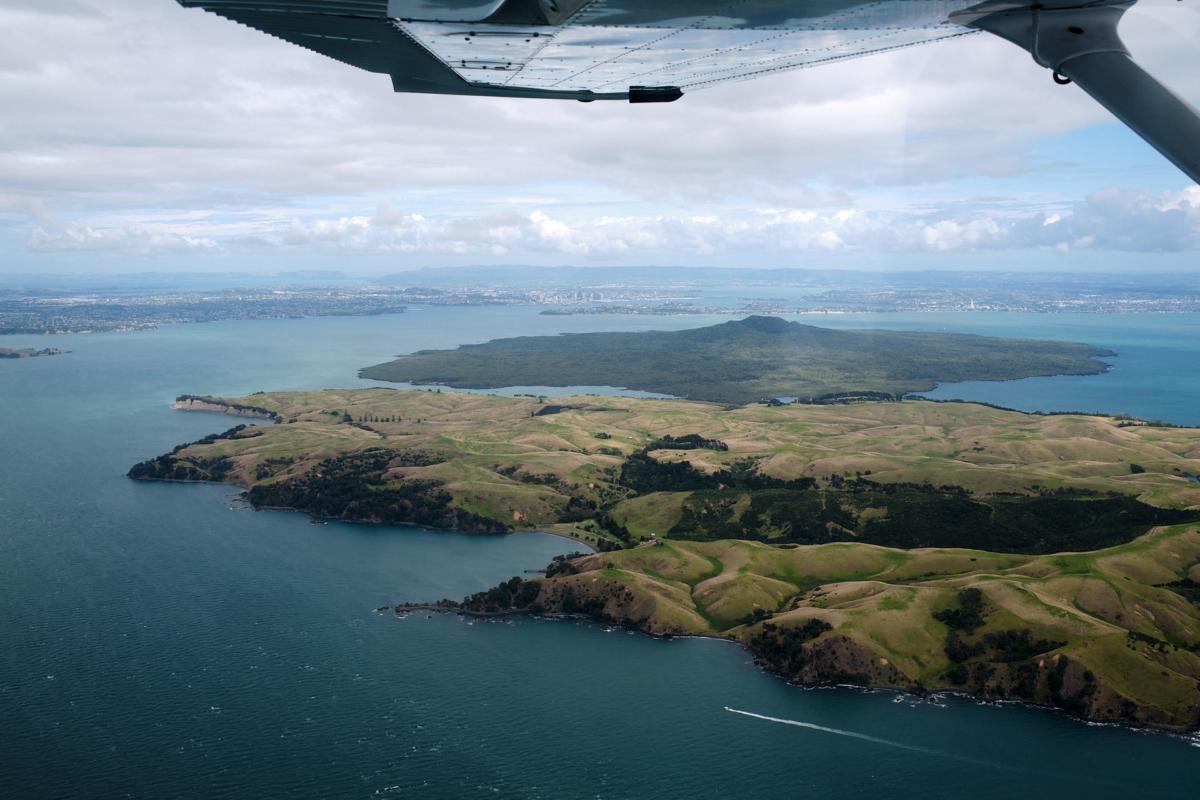 Motutapu and Rangitoto Island